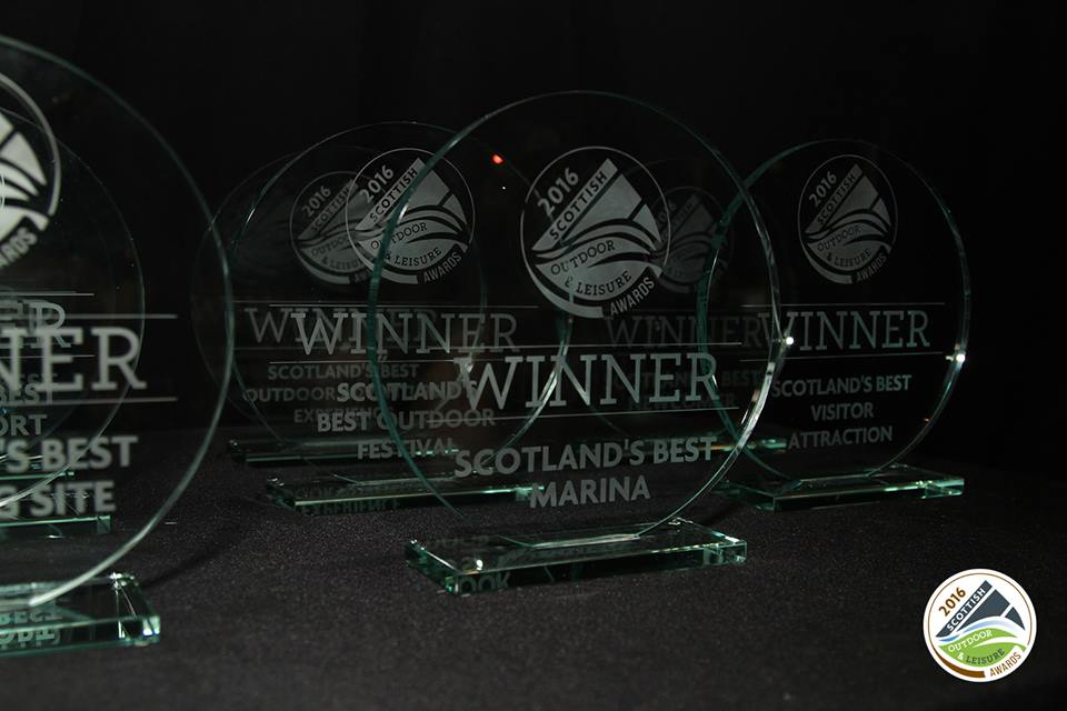 Scottish Awards winner Glamping Domes