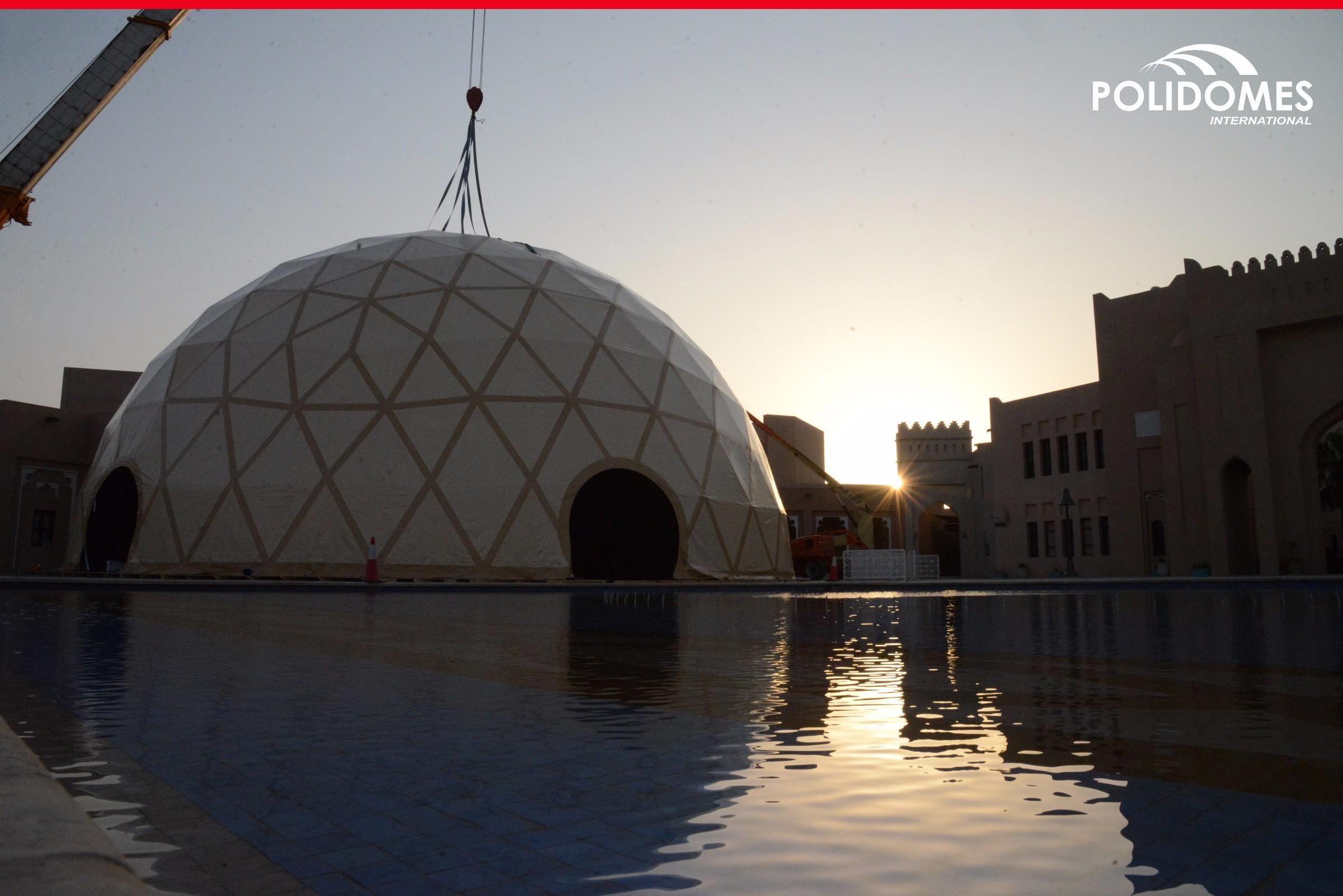 Doha_dome_setup