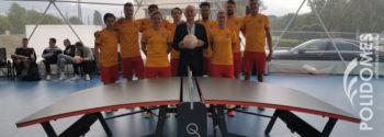 Teqball sports dome