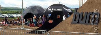 burn festival geodesic dome tent