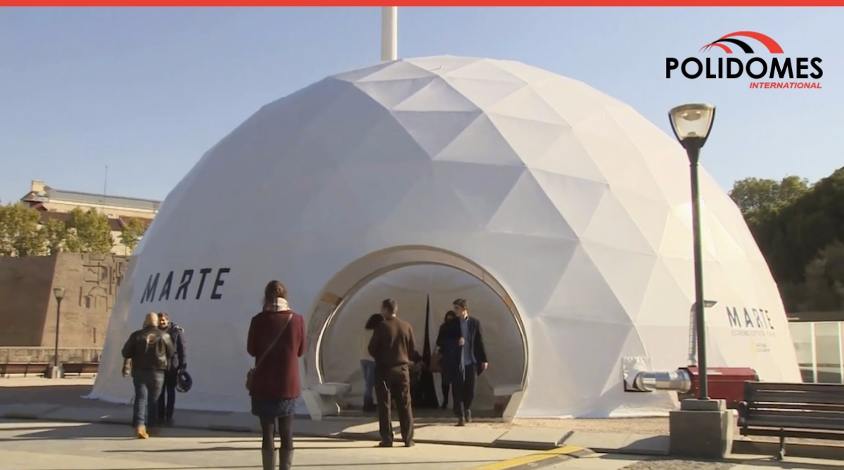 polidome-mars-geodesinc-tent-national-geographic-logo