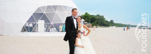 namiot weselny beachwedding